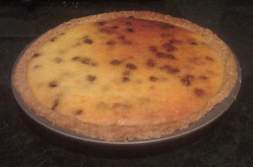 Lemon and raisin frugal recipes cheesecake